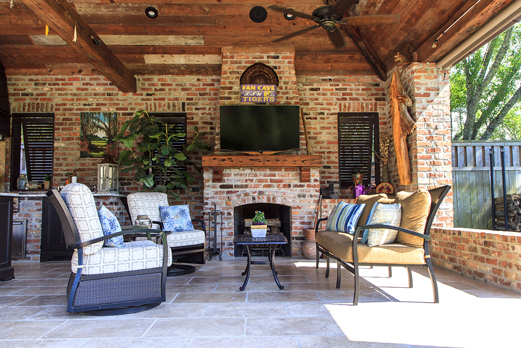 Outdoor Kitchen Mike Corsentino 17803 Prestwick Ave Baton Rouge Business Report