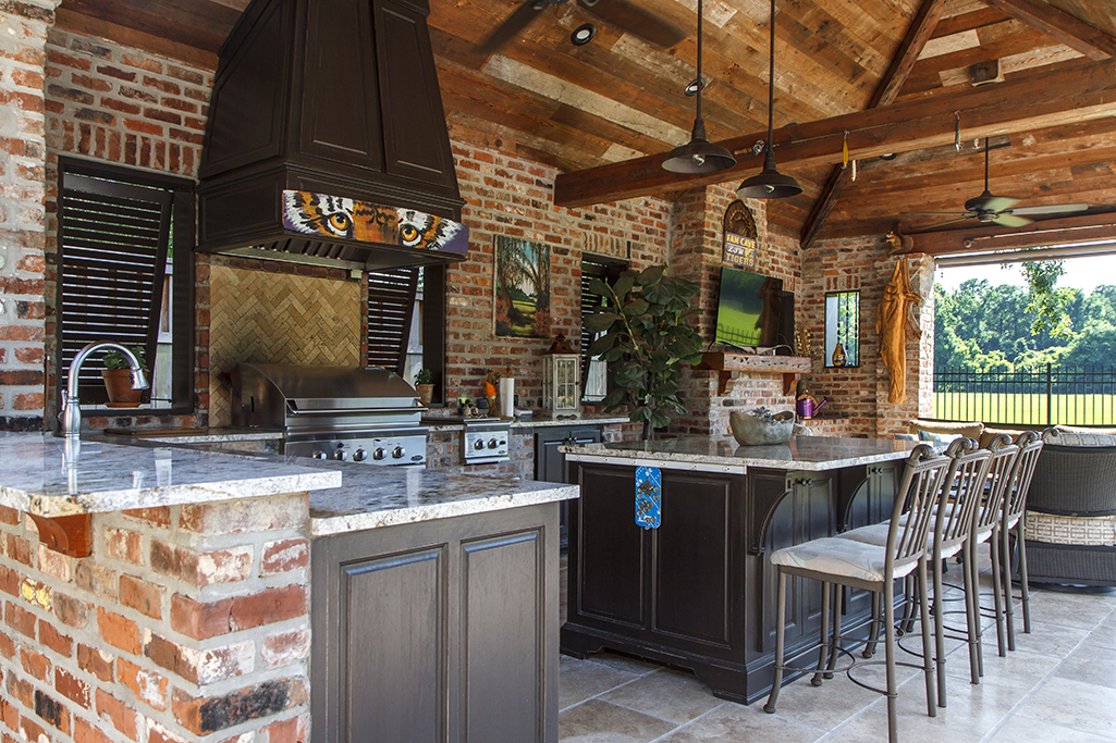 Outdoor Kitchen The Eye Of The Tiger Baton Rouge Business Report