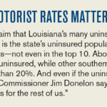 tort reform auto insurance rates