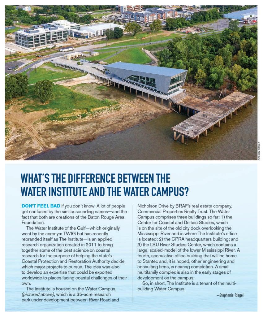 Water Institute Water Campus