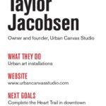 Entrepreneur Taylor Jacobsen
