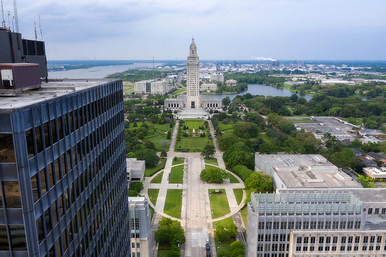 Louisiana state government faring better than private sector on employment