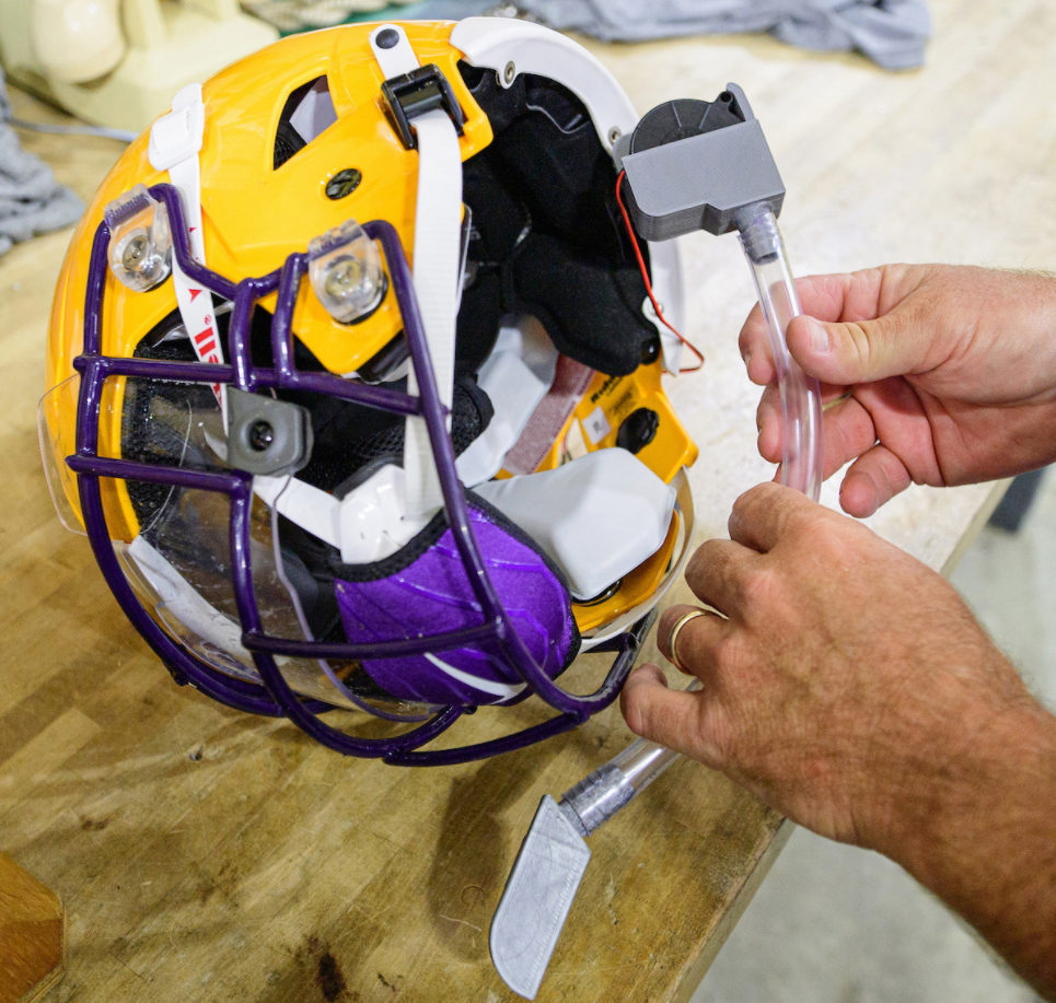 Lsu Researchers Develop Technology To Protect Football Players From Coronavirus