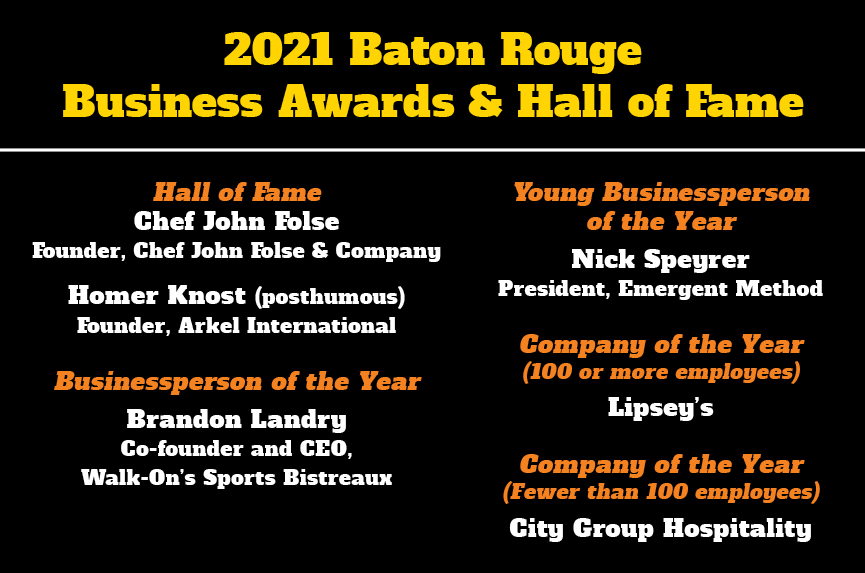 Business Awards and Hall of Fame